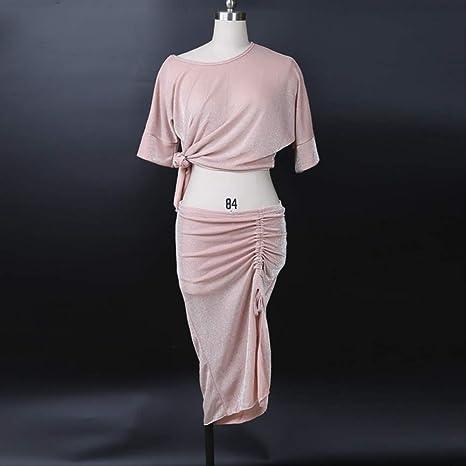 KLMWDDPWY Danza del Vientre Mujer Tallas Grandes para Mujer Ropa ...