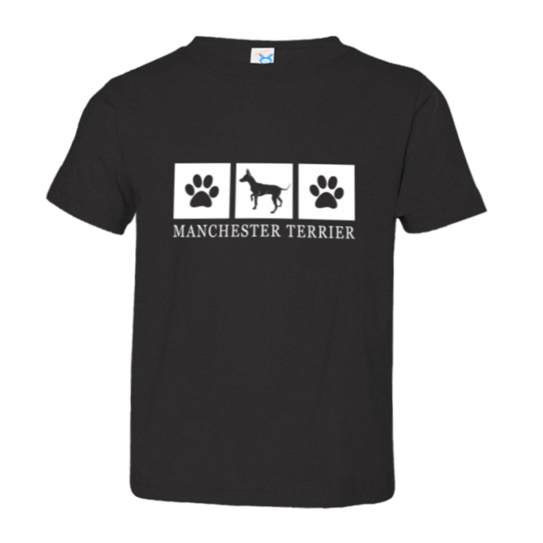 Toddler Manchester Setter Paws I Love My Dog Lover HQ Tee Shirt