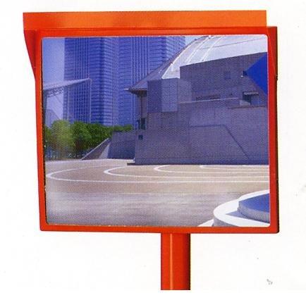 アクリルカーブミラー 角型 600×800mm 道路反射鏡 設置基準合格品 B00AIG9O4O 29400