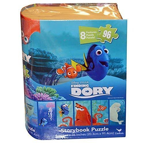 Disney Pixar Finding Dory Storybook Puzzle, 8 Puzzle Panels Featuring Finding Dory Characters -