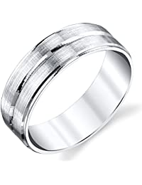 sterling silver mens wedding band ring comfort fit by size 8 9 10 11 12 13