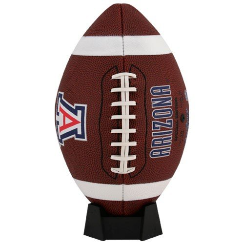 NCAA Game Time Full Size Football , Arizona Wildcats, Brown, Full Size