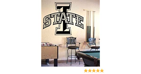 Iowa State Cyclones NCAA Football Sports Wall Decal Vinyl Sticker For Room Home