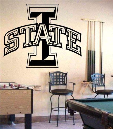 NCAA Iowa State Cyclones Wall Art Sticker Decal (S300) (Iowa State Wall Decal)