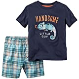 Carter's Baby Boys' 2 Pc Playwear Sets 229g139, Navy, 6 Months