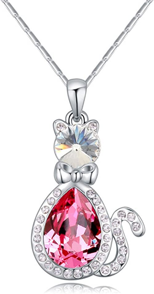 SIMULATED DIAMOND 25MM LOVE HEART PENDANT STERLING SILVER FILLED LADIES NECKLACE