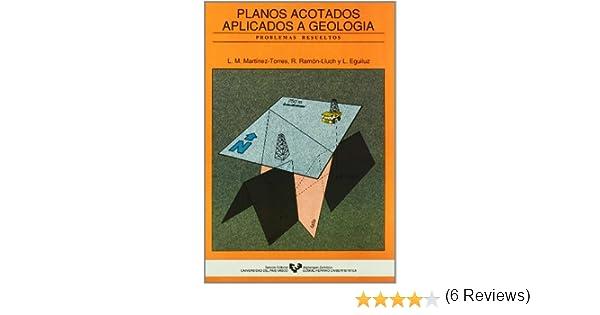 Planos acotados aplicados a la geología: Amazon.es: Martínez ...