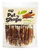 Pet 'n Shape Duck Hide Twists Natural Dog Treats, 1 Pound