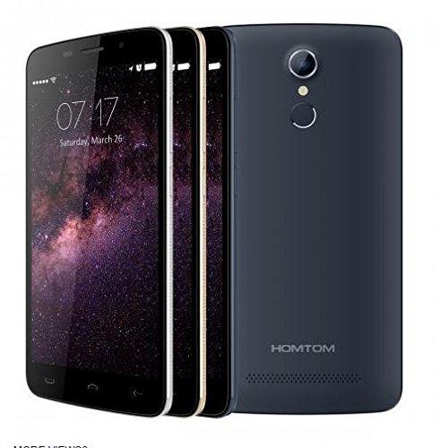 HOMTOM-HT17-Android-60-Smartphone-4G-55-pulgadas-HD-de-reconocimiento-de-huellas-digitales-de-64-bits-MTK6737-Quad-Core-de-79-mm-de-espesor-Negro