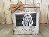 Cheap Personalized Grandmother Picture Frame Board, I Love My Gigi, Rustic Picture Frame Vintage Shabby Chic Picture Frame