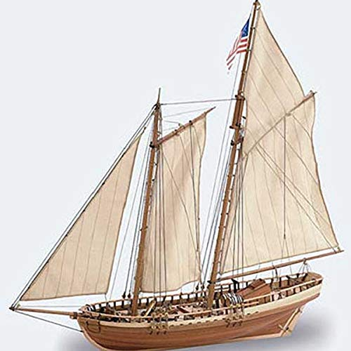 Artesania Latina, S.A. 1 41 Virginia American Schooner Model Ship Kit, LAT22135