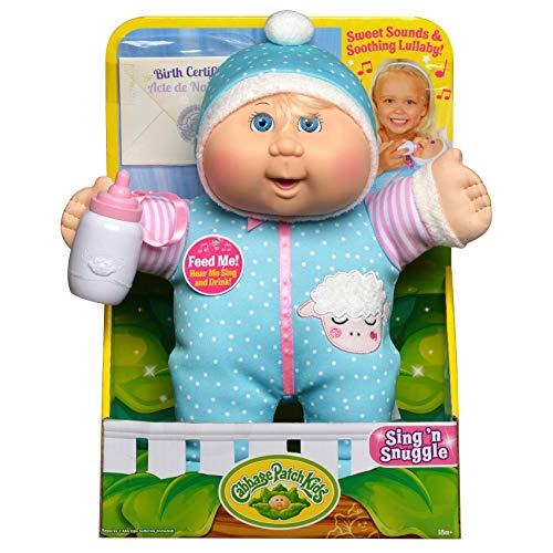 """Cabbage Patch Kids Electronic 11"""" Deluxe Sing N' Snuggle for sale  Delivered anywhere in USA"""