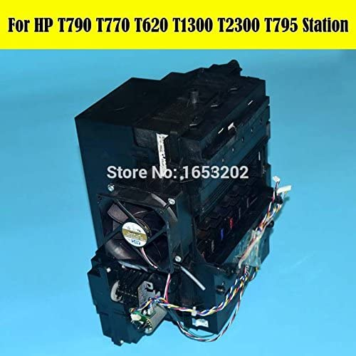 1 Asamblea estación de servicio PC original CH538-67040 Para HP Designjet T610 T620 T770 T790 T795 T1300 Impresora 90% nuevo: Amazon.es: Electrónica