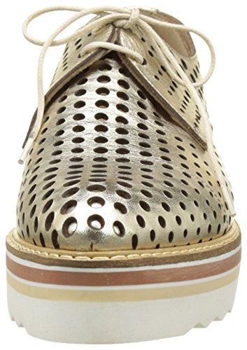 Donna Piu 52719 Ruby, Zapatos de Cordones Derby para Mujer Or (Vacchetta Gold)