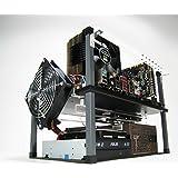 HighSpeed PC Half-Deck Tech Station - Standard (ATX)/Black