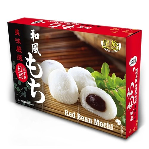 (Red Bean Mochi (Japanese Style Red Bean Mochi) - 7.4oz (Pack of 1))