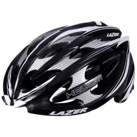 Cheap Lazer Helium Helmet: Black/White MD (54-56 CM)