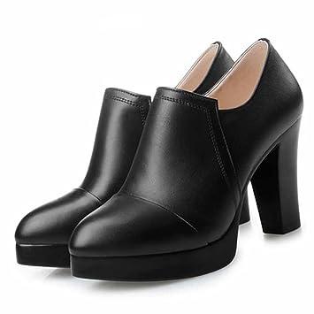 La Temporada Zapato Primavera De Gtvernh Único Nueva Y El Otoño TqEdTA