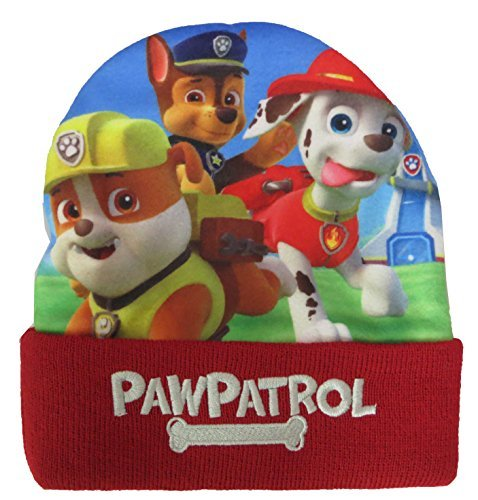 Nickelodeon Paw Patrol Hat and Mittens Set [4012] (Red)
