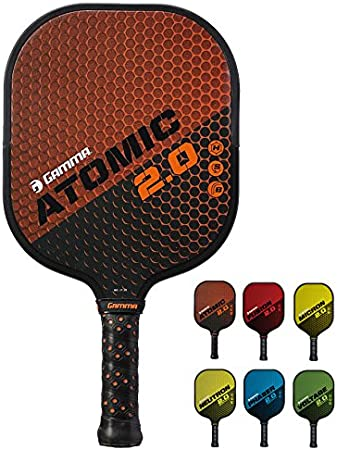 Amazon.com: Gamma New 2.0 Palas de Pickleball (cara ...