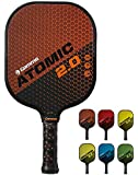 GAMMA New 2.0 Pickleball Paddles (Graphite and FiberglassCompositeFace, New Textured/Older Untextured Surface - AramidHoneycombCore,7-8 oz)