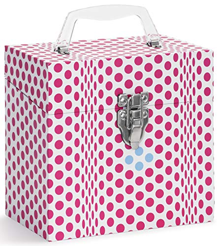 TUNES-TOTE 'Folding DOTS Pink' 45 RPM 7
