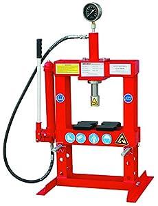 Hilka 82950010 10 Tonne Bench Top Shop Press Amazon Co Uk