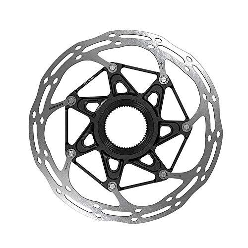SRAM Centerline X Rounded Rotor - Centerlock Silver/Black, 180mm