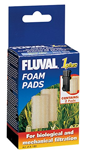 Fluval 1 Plus Foam Insert, 2-Pack - Fluval Plus Internal Filter