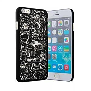 ZL Children's Toys Relief Back Case for iPhone 6 (Assorted Colors) , White