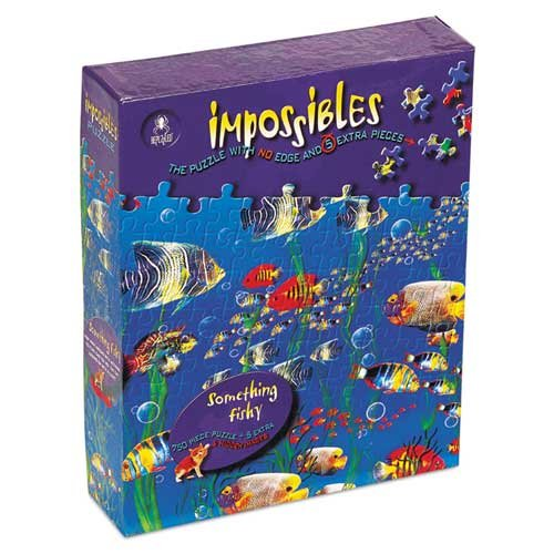 Impossible 750 Piece Something Fishy Puzzle