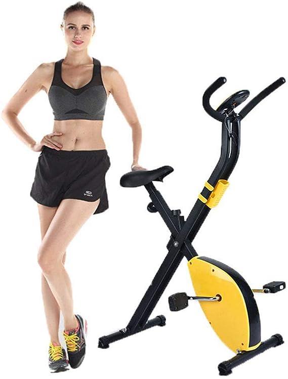 Bicicleta Estática Plegable, Bicicleta Magnética para Ejercicios ...