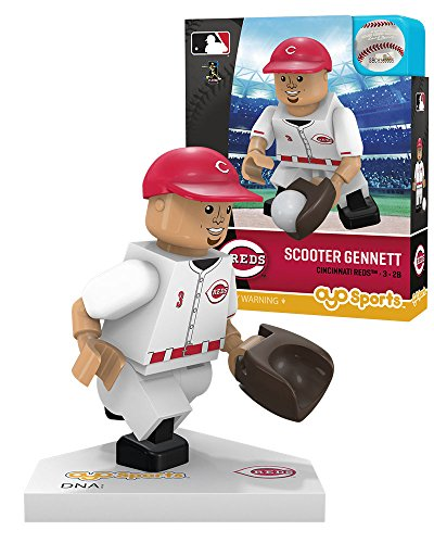 MLB Cincinnati Reds Sports Fan Bobble Head Toy Figures, red/White, One Size