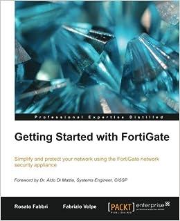Getting Started with FortiGate: Rosato Fabbri, Fabrizio