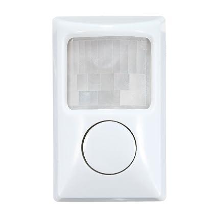Tutoy 90Db Seguridad Ladrón Infrarrojos Movimiento Sensor Detector PIR Alarma Casa Puerta Garaje