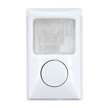 Tutoy 90Db Seguridad Ladrón Infrarrojos Movimiento Sensor Detector Pir Alarma Casa Puerta Garaje: Amazon.es: Hogar