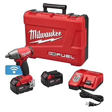 MILWAUKEE 2759B-22 M18 Fuel 1/2 In. Compact Impact Wrench w/ Ring Kit