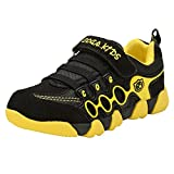 Genda 2Archer Unisex Boys Girls Fashion Sneakers Running Athletic Shoes(Black,39)