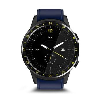 Feiledi - Reloj Inteligente Bluetooth con Tarjeta SIM y Ranura para Tarjeta de Memoria, Compatible