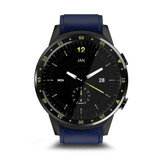 Relojes Inteligente GPS Deportivo con Doble Cámara 1.3 Pantalla Táctil Fitness Tracker Pulsómetro Monitor De Sueño Bluetooth Smartwatch Compatible Android ...