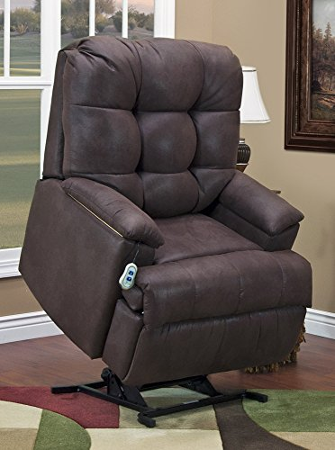 5600 Series Wall-a-Way Reclining Lift Chair Upholstery: Stampede - Chocolate