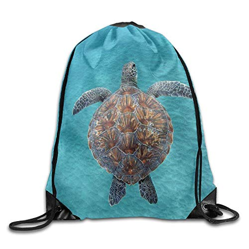 Used, Bnialaed Tropical Drawstring Bag Sport Backpack Bag for sale  Delivered anywhere in USA