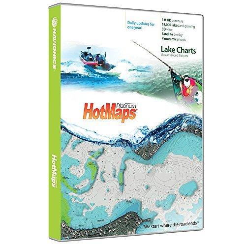 Navionics HotMaps Platinum Canada Lake Charts on SD/MSD (Store British Ontario)