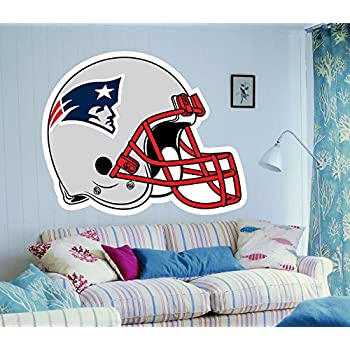 New England Patriots Patriots sticker Patriots decal Patriots wall decalNew England  sc 1 st  Amazon.com : new england patriots wall decals - www.pureclipart.com