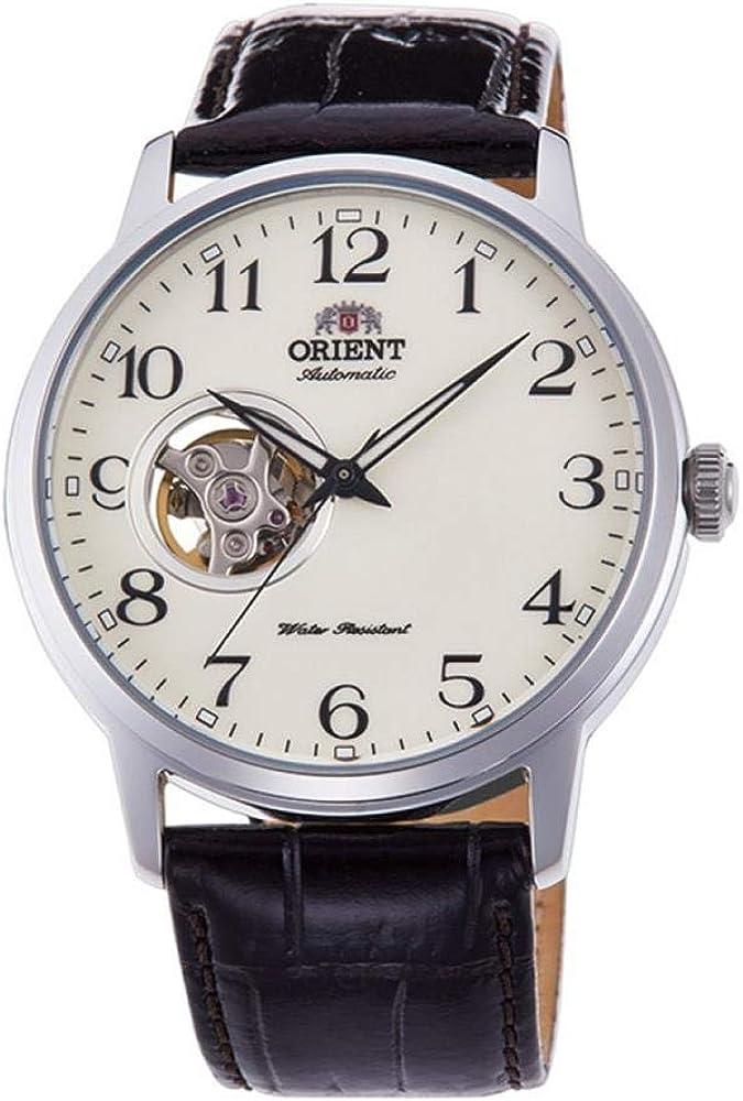 Orient Reloj Analógico para Hombre de Automático con Correa en Cuero RA-AG0010S10B