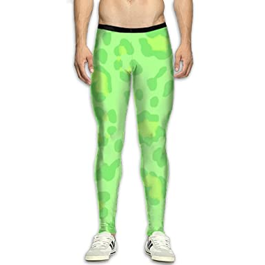 856dfd060b Mens Pants Jogger Fitness Leopard Green Bodybuilding Compression Tights  Long Trousers