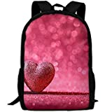 ZQBAAD Heart Love Luxury Print Men And Women's Travel Knapsack