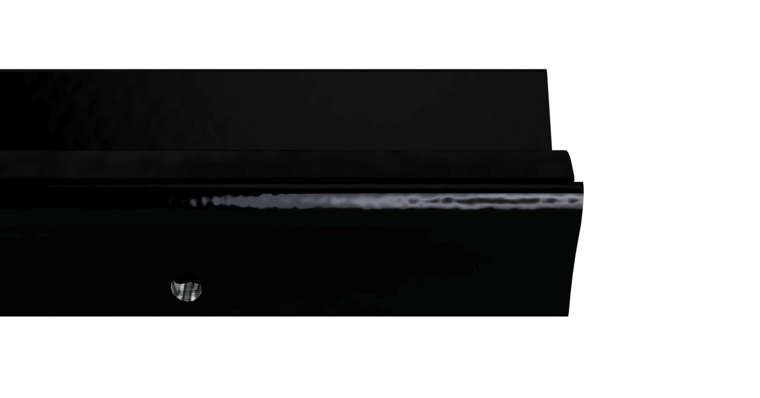 STORMGUARD 04SR0011828BL Lowline Inward Opening Threshold Sill, Black, 1828mm (6'0'') by STORMGUARD