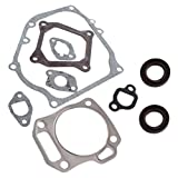 Cozy Pack of Cylinder Head Exhaust Muffler Full Gaskets Crankcase Oil Seal for Honda Gx160 5.5hp Engine