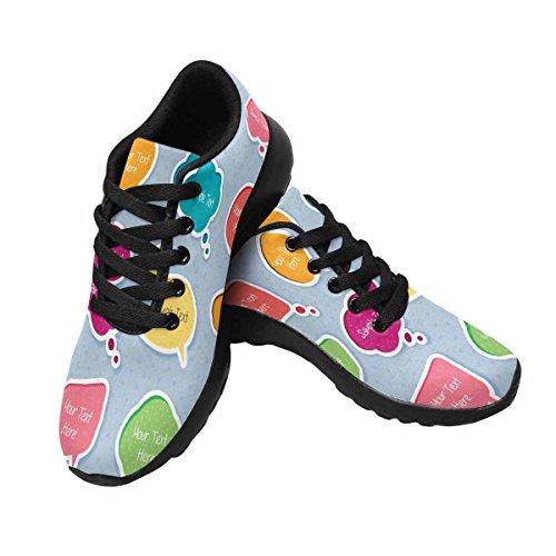 Scarpe Da Corsa Trail Running Da Donna Jogging Leggero Sportivo Da Passeggio Sneaker Da Atletica Digital Box Digital Clip Art Multi 1
